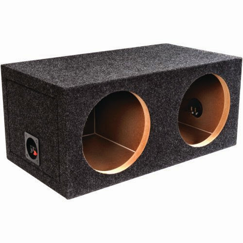Bbox Pro SeriesDual Shared Vent Subwoofer Enclosure Charcoal