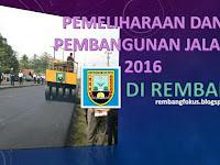 6 Lagi, Tambahan Proyek Peningkatan dan Pelebaran Jalan di Rembang.