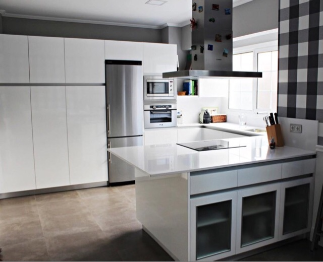 Lovik cocina moderna tienda de muebles de cocina desde for Precio de cocinas baratas