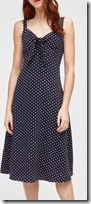 Warehouse Polka Dot Dress