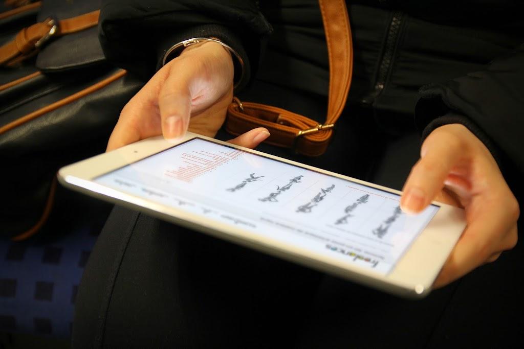 capture écran pour tablettes sublimer présentation responsive web design conception site web adaptatif mini iPad blanc