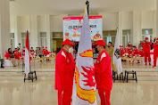 Gubernur Sulut Lepas Kontingen PON XX Papua, Danlanud Sam Ratulangi Menjadi Ketua Kontingen