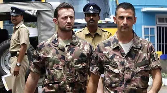 Italian Marine Case Culprits Salvatore Girone and Massimiliano Latorre