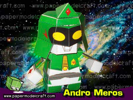 Andro Meros Papercraft