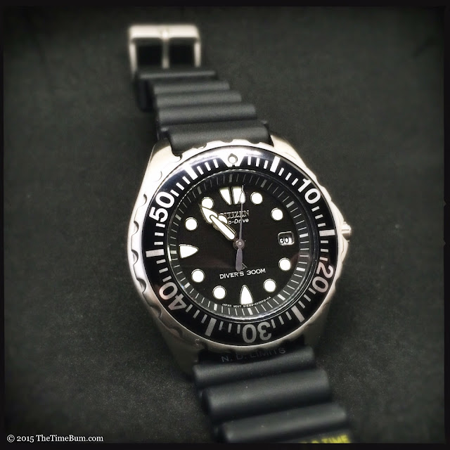 how to set time on citizen eco drive promaster