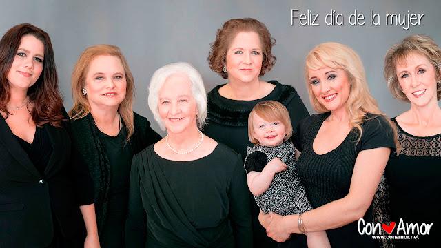 Muchas felicidades a todas las mujeres del mundo.