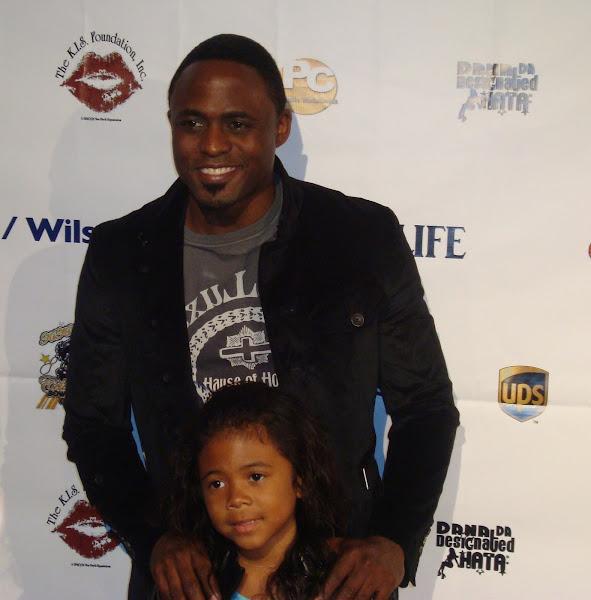 KiKi Shepards 7th Annual Celebrity Bowling Challenge - Wayne%2BBrady%2Band%2Bdaughter.jpg