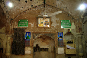 Main prayer hall of the Mosque, which is in Poor condition