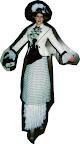 Victorian Lady on Stilts