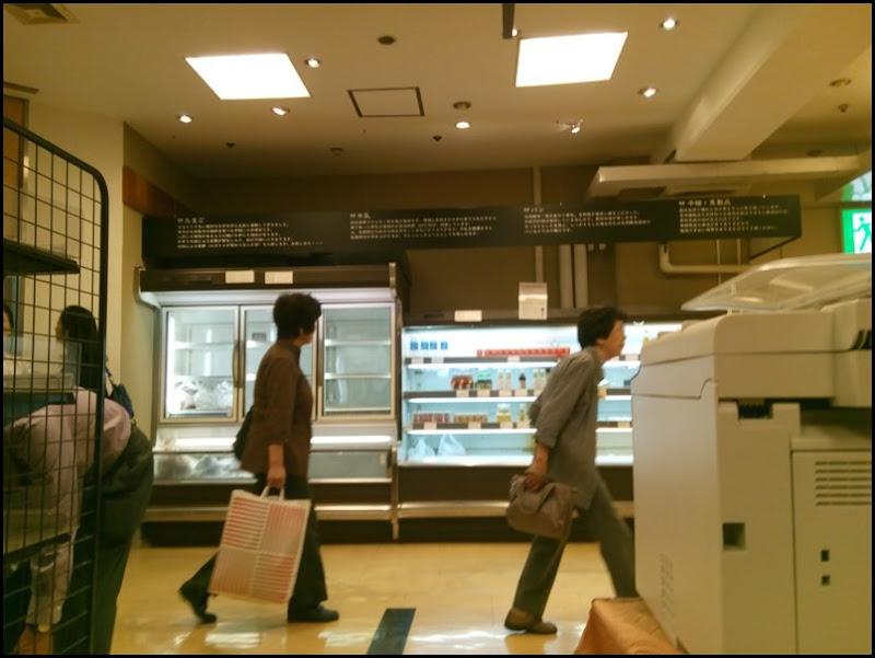 柏そごう@2016/09/30 最終日の地下の風景