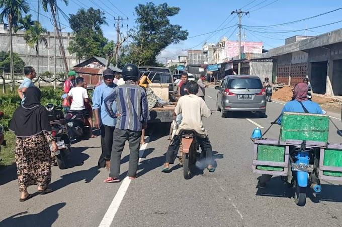 Pengendera Sepmor Meninggal Ditabrak Mobil Pick Up di Julok