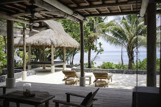 Photo: Lounge area in villa