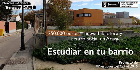 #PresupuestosMadrid 2016