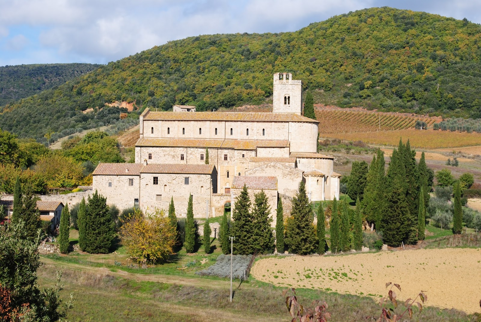 My Photos: Italy -- Tuscany -- Castelnuovo del Abate