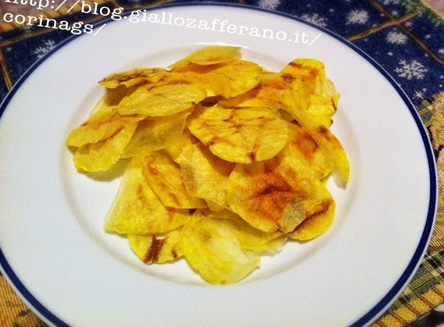 ricetta chips di patate blog cucina giallo zafferano