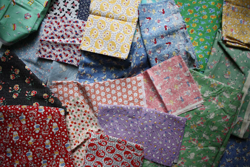vintage reproduction fabric