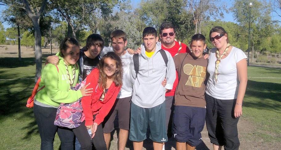 Clan Foxlease del grupo Scout Padre Coll 329 de Albacete en la Pulgosa