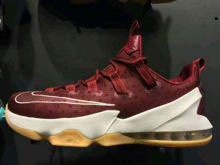 Preview  Nike LeBron 13 Low in Cleveland Cavaliers  Colors  0b097963d