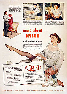 As Nylon Fabric Advertisements