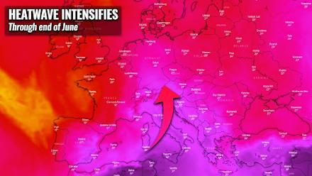 Νέο πιο ισχυρό κύμα καύσωνα στην Ευρώπη - Αυξάνεται κι ο κίνδυνος εκδήλωσης σφοδρών καταιγίδων