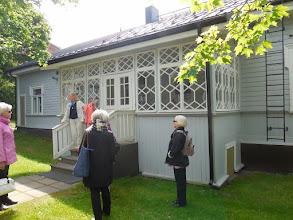 Photo: Talo, jossa Jannen isovanhemmat asuivat.