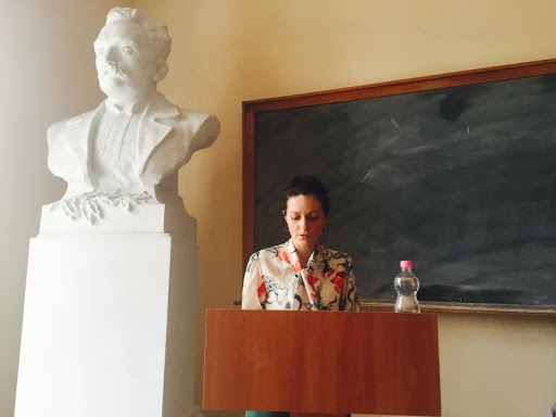 2 червня 2016 р. молодший науковий співробітник Інституту Івана Франка МАРІЯ ЛАПІЙ захистила дисертацію на здобуття наукового ступеня кандидата філологічних наук