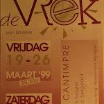 1999 - De Vrek