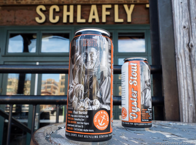 Schlafly Beer Releasing Shucker Cans of Oyster Stout Coming 3/23-3/24