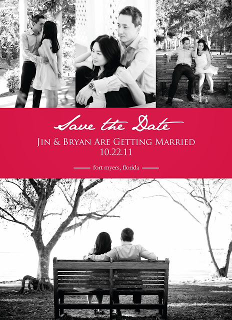 Jin Bryan Save the Date bw