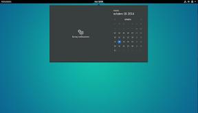 Primeros pasos con GNOME Shell. Hacia la productividad. Calendario.
