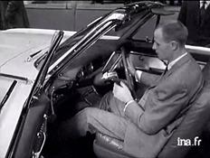1960 américaine à volant mobile