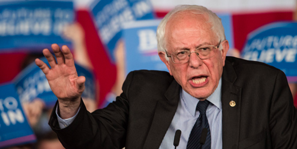 Sanders responds to anti-Semitic gibe in Harlem