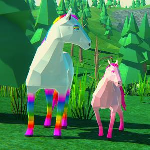 Magic Horse Simulator3D Wild Horses Adventure 1.16 by UNIMIX STUDIO logo