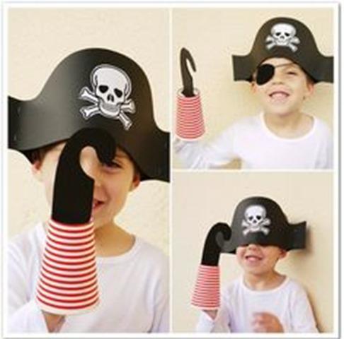 hacer sobrero de pirata2