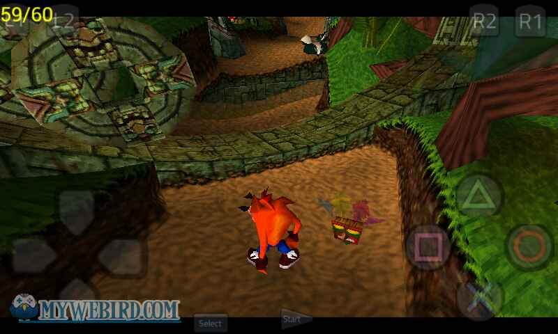 crash bandicoot psx gameplay