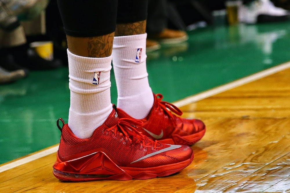 J.R. Smith is Shooting the Lights Out in Nike LeBron 12 Low-Tops ... d23231859