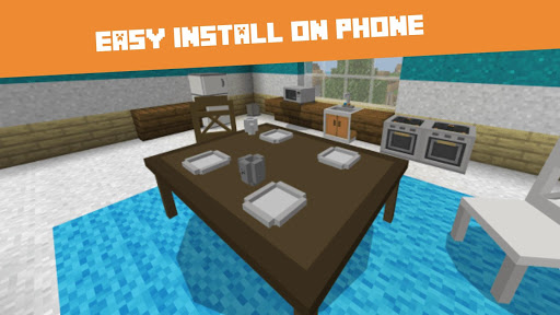Furniture MODs for Minecraft PE screenshot 1