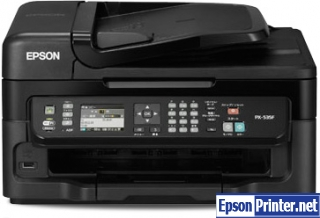 How to reset Epson PX-535F printer