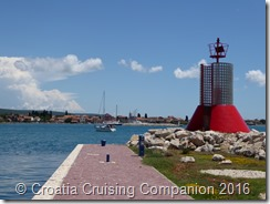 Croatia Cruising Companion - Marina Dalmacija Red Light