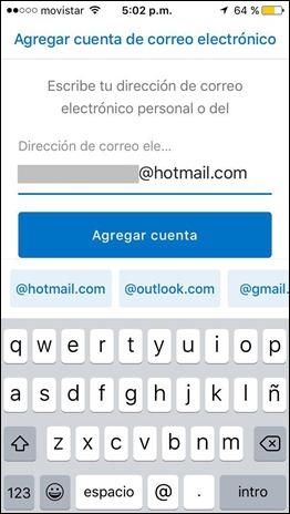 Iniciar sesión Hotmail desde app - 3