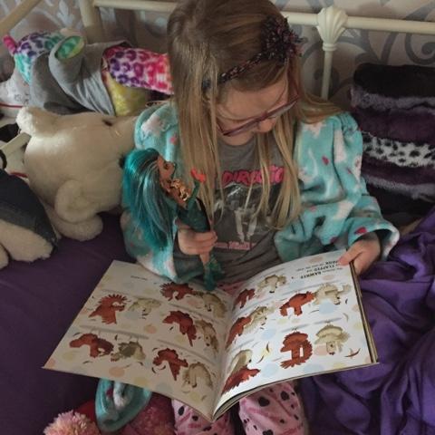 chicken dance book being read