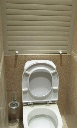 Рольставни в туалет купить в СПб