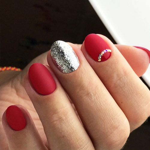 Hottest Red Nails For Woman 2018 7