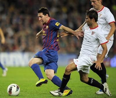 Lionel Messi, Barcelona - Sevilla