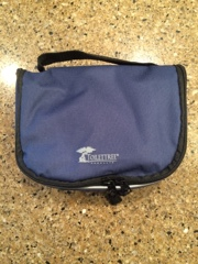 Living A Fit And Full Life Toiletry Bag With 3 Tsa