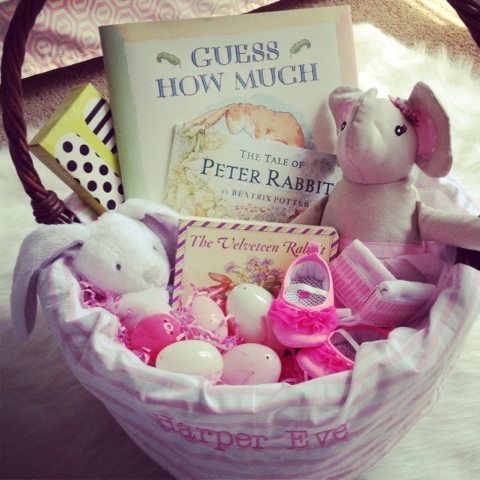 Amazing little baby april 2012 happy easter negle Choice Image