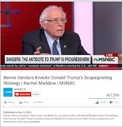 20151209 Bernie Sanders Interview Donald Trump Scapegoating Strategy Rachel Madowm (MSMbc)(06m40s).jpg