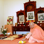 Swami Kripamayananda visits in April