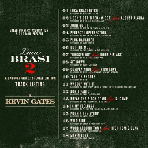 Kevin Gates - Luca Brasi 2 (Mixtape)