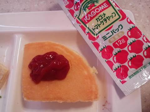 パンケーキ+ケチャップ かいおう小牧パワーズ店2回目